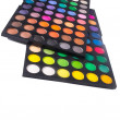 Palette of colorful eye shadow — Stock Photo #59300039