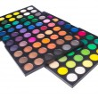 Palette of colorful eye shadow — Stock Photo #59300097