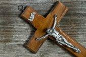 十字架につけられたイエス ・ キリストを十字します。 — ストック写真
