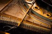 Piano disassemble — Stock Photo