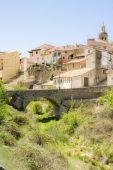 Rural landscape Rubielos de Mora, Teruel, Spain — Stock Photo