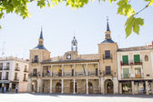 Facade of City Hall of El Burgo de Osma, Soria, Spain — Stock Photo