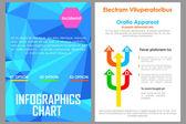 Företag broschyr design — Stockvektor