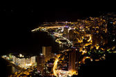 Scenic view from top of Monaco — Stock Photo