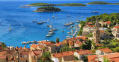 View of Hvar ,Croatia — Stock Photo