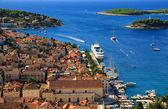 Coastal Town Hvar — Stock Photo