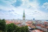Panorama do centro histórico — Foto Stock