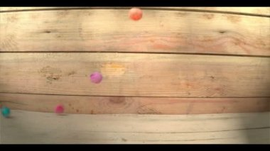 Coloured Balls — Stock Video
