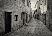 Romantic Stone Street — Stock Photo