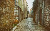 Old Stone Historical Street — Stock Photo