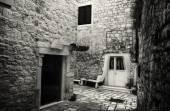 Old Stone Romantic Street — Stock Photo