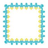 Šperky rám — Stock vektor