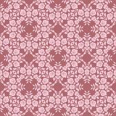 Květinové krajky pattern — Stock vektor