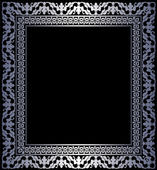 Silver frame — 图库矢量图片