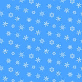 Pattern from snowflake — Stock Vector