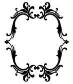 Black frame — Stock Vector