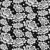 çiçekli dantel modeli — Stok Vektör