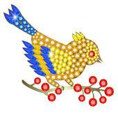 Jewelry birdie — Stock Vector