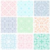 Set of lace — Stock Vector