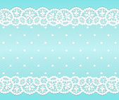 White lace — Stock Vector