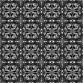 Zwarte kantpatroon — Stockvector