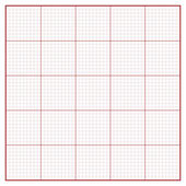 Vector square engineering graph paper — Stock Vector