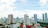 全景视图的城市曼谷市 — 图库照片