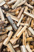 Split firewood. — Stock Photo
