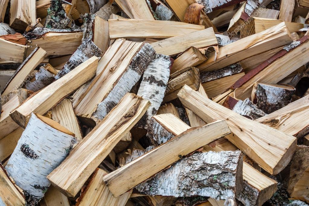 Split Birch Firewood Stock Photo Svn48 53341551