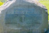 German prisoners of war cemetery in the city Lezhnevo Ivanovo re — Stock Photo
