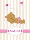 Teddy bear — Stockvector