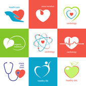 Health care icons set — Vetorial Stock