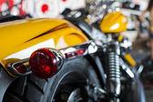 Motor bike detail — Stock Photo