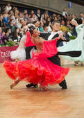 Ballroom dance couple — Foto de Stock