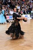 Ballroom dancers — Stock Photo