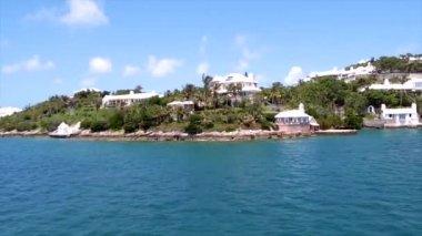 Tropical Island in Bermuda — ストックビデオ