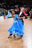 Balo salonu dans çift — Stok fotoğraf