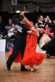 舞厅舞夫妇,跳舞比赛 — 图库照片