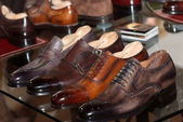Mens formal shoes — Zdjęcie stockowe