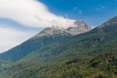 View of Alaska's Mountains — Stockfoto