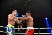World series of boxing: Ukraine Otamans vs British Lionhearts — Stockfoto