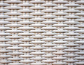 White wicker surface — Stockfoto