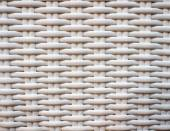 White wicker surface — Stock Photo