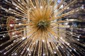 Fashionable modern chandelier — ストック写真