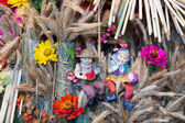 Ukrainian talisman handmade — Foto de Stock