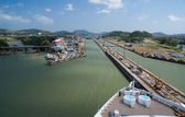 Atlantic entrance of the Panama Canal — Stock fotografie