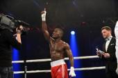 World series of boxing: Ukraine Otamans vs British Lionhearts — Stock Photo