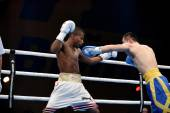 World series of boxing: Ukraine Otamans vs Cuba Domadores — 图库照片