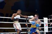 World series of boxing: Ukraine Otamans vs Cuba Domadores — ストック写真