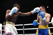 World series of boxing: Ukraine Otamans vs Cuba Domadores — Φωτογραφία Αρχείου